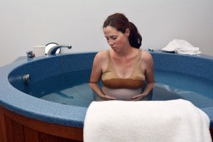 Geburt in der Badewanne