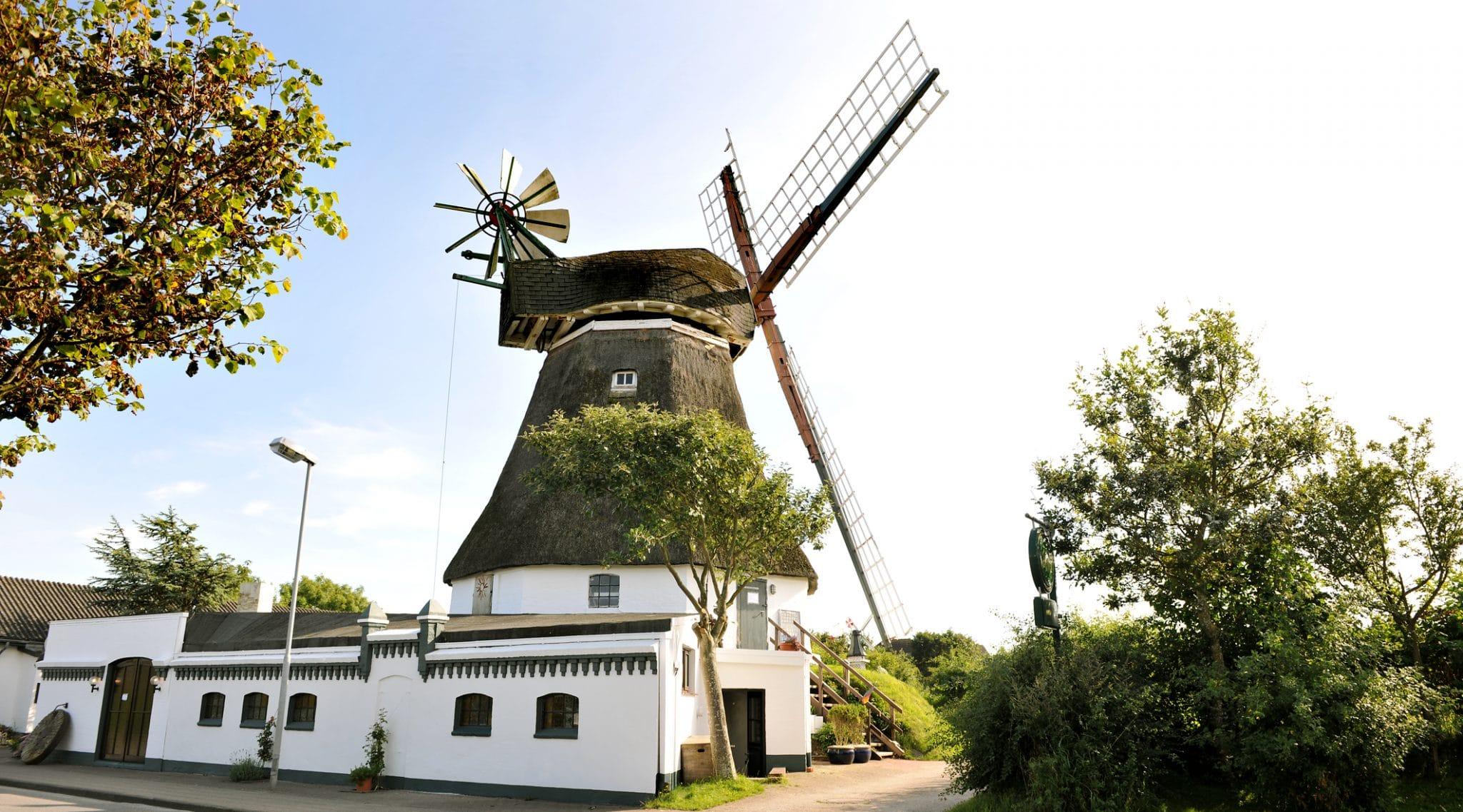Windmühle Föhr